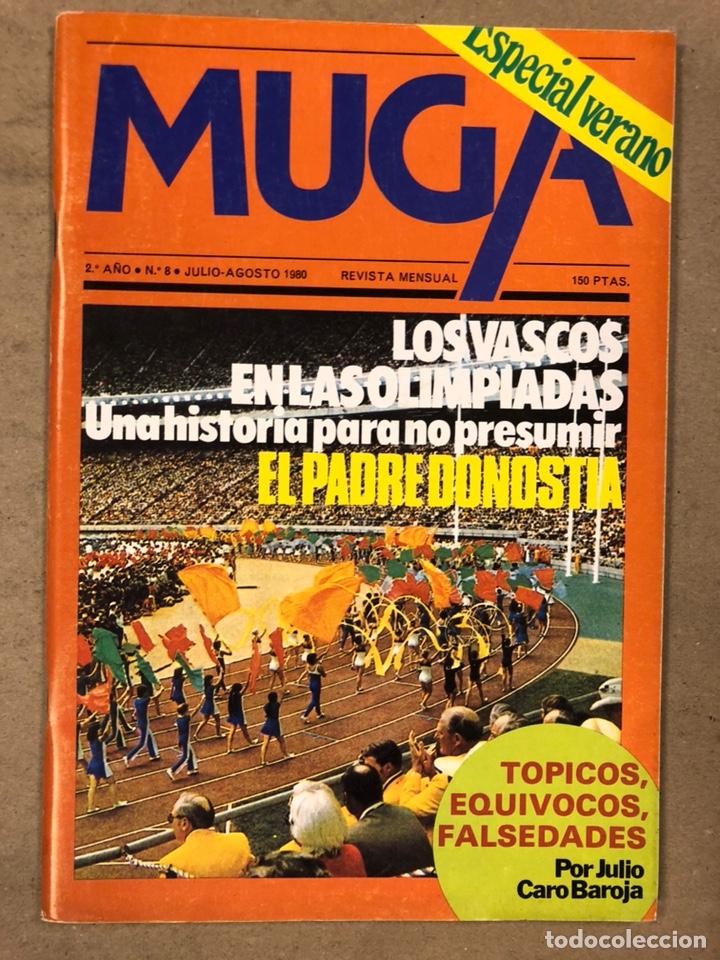 Coleccionismo de Revistas y Periódicos: MUGA. LOTE CON LOS 12 PRIMEROS NÚMEROS DE LA REVISTA POLÍTICA VASCA (1979 - 1980). - Foto 9 - 196768235