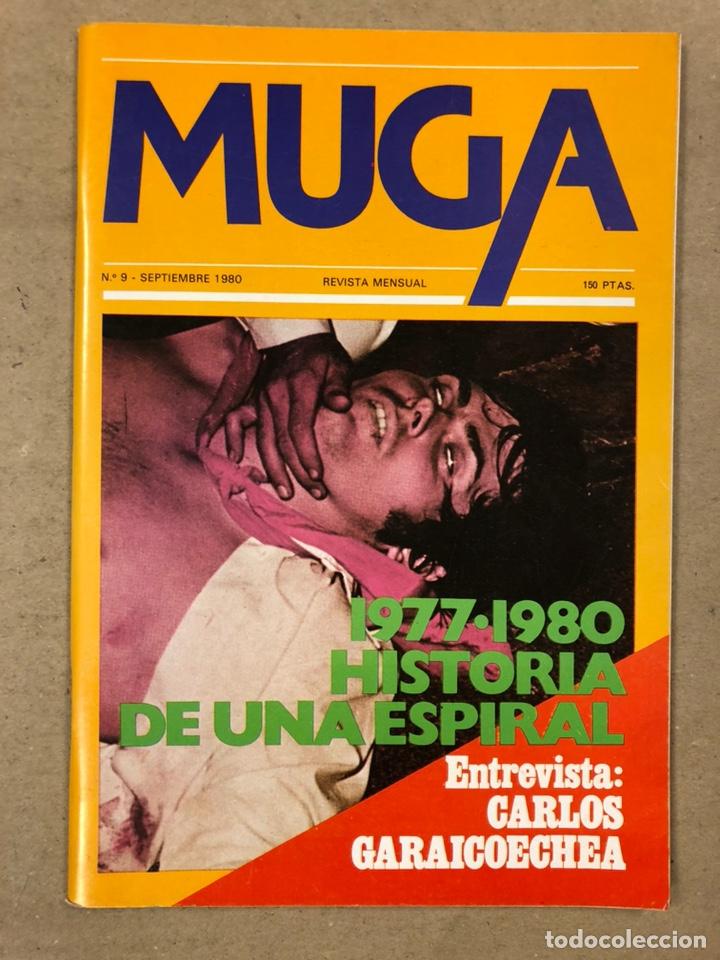 Coleccionismo de Revistas y Periódicos: MUGA. LOTE CON LOS 12 PRIMEROS NÚMEROS DE LA REVISTA POLÍTICA VASCA (1979 - 1980). - Foto 10 - 196768235