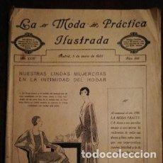 Coleccionismo de Revistas y Periódicos: REVISTA LA MODA PRÁCTICA ILUSTRADA 5 DE ENERO DE 1930 - N°883. Lote 196778102