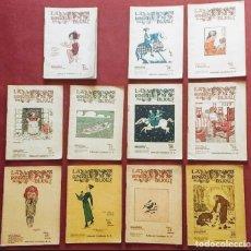 Coleccionismo de Revistas y Periódicos: LA RONDALLA DEL DIJOUS - 11 REVISTES - 1924. Lote 197064151