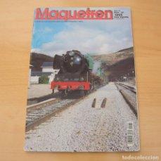 Colecionismo de Revistas e Jornais: MAQUETREN NÚMERO 37 . 1995. REVISTA. Lote 197074290