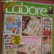 Coleccionismo de Revistas y Periódicos: REVISTA LABORES Nº 441 - FEBRERO 1995 - VAJILLAS, HERBARIO, MANTELES .... Lote 197111108