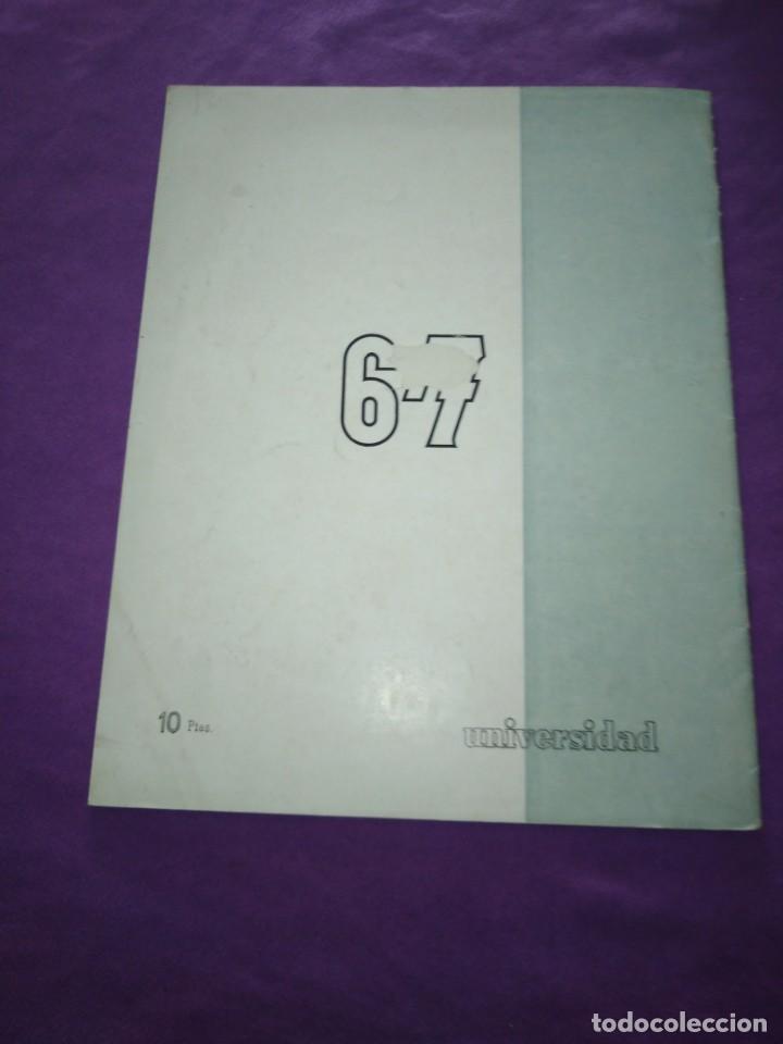 Coleccionismo de Revistas y Periódicos: UNIVERSIDAD NUMEROS VI VII ENERO FEBRERO 1958 SAGAN BUFFET VADIM BERNARD FUFFET JEAN RENOIR - Foto 3 - 197126815