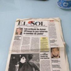 Colecionismo de Revistas e Jornais: DIARIO EL SOL N°1. 22 DE MAYO DE 1990.. Lote 197129685