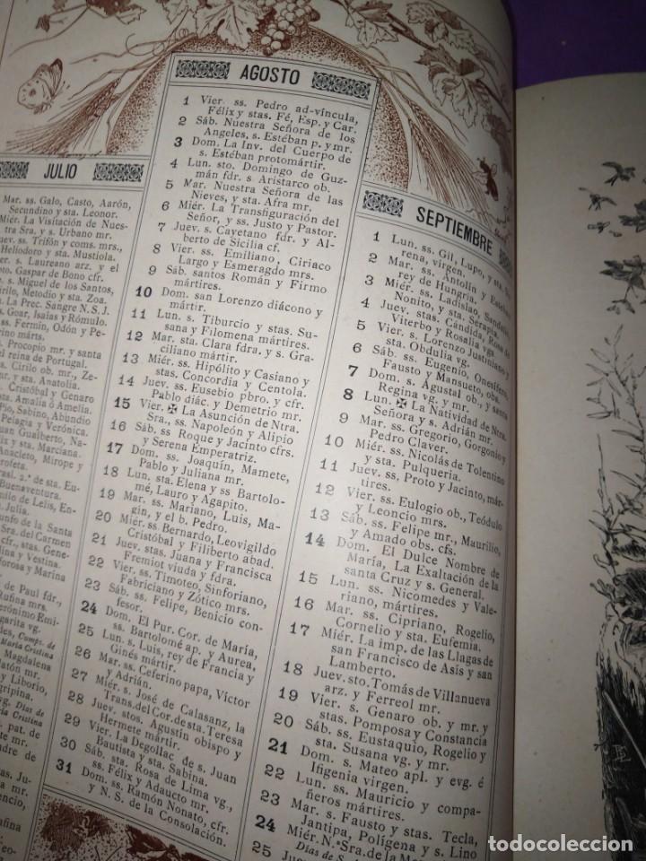 Coleccionismo de Revistas y Periódicos: ALMANAQUE ILUSTRACION NACIONAL 1890 MODERNISMO EDUARDO PALACIO ADOLFO LLANOS RAMON DE CAMPOAMOR - Foto 5 - 197183685