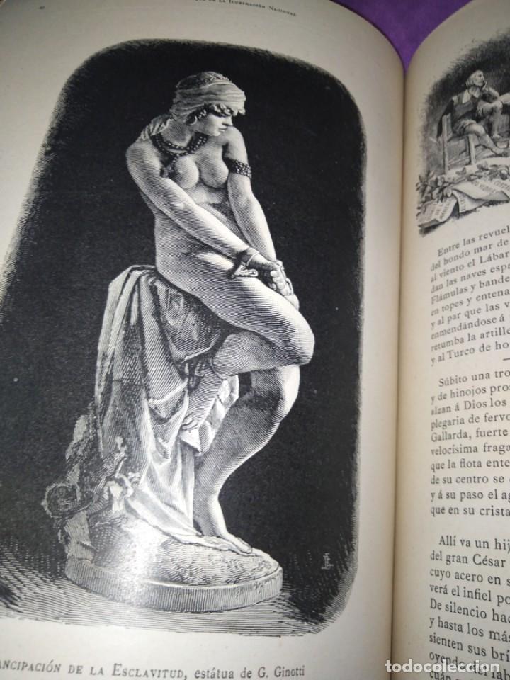 Coleccionismo de Revistas y Periódicos: ALMANAQUE ILUSTRACION NACIONAL 1890 MODERNISMO EDUARDO PALACIO ADOLFO LLANOS RAMON DE CAMPOAMOR - Foto 6 - 197183685