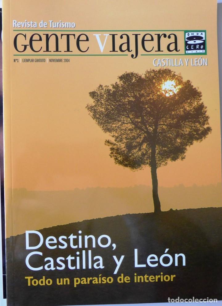 RADIO GENTE VIAJERA DESTINO CASTILLA Y LEÓN. REVISTA Nº 1 - 2004 (Coleccionismo - Revistas y Periódicos Modernos (a partir de 1.940) - Otros)
