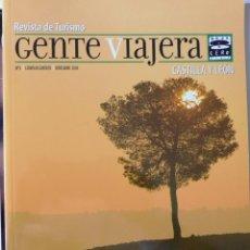 Coleccionismo de Revistas y Periódicos: RADIO GENTE VIAJERA DESTINO CASTILLA Y LEÓN. REVISTA Nº 1 - 2004. Lote 197196506