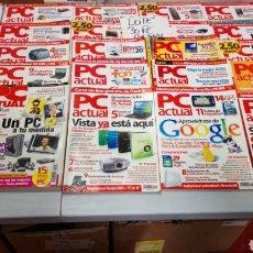 Coleccionismo de Revistas y Periódicos: LOTE 30 REVISTA PC ACTUAL AÑO 2006 EN ADELANTE TODAS ALGUNA PUEDE TENER LOMO ARRUGADO. Lote 197238168