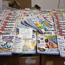 Coleccionismo de Revistas y Periódicos: LOTE 112 APROX REVISTA COMPUTER HOY APARTIR NÚMERO 157 ALGUNA PUEDE ESTAR DAÑADA. Lote 197241231