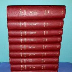 Coleccionismo de Revistas y Periódicos: 10 TOMOS SEMESTRALES COMPLETOS REVISTA ILUSTRADA BLANCO Y NEGRO AÑOS DE 1906 A 1910 EXCELENTE ESTADO. Lote 197466477