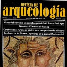 Collectionnisme de Revues et Journaux: REVISTA DE ARQUEOLOGIA AÑO XXI Nº 226 OCEANO ICONOGRAFIA DE UN DIOS ABISMAL Y MISTERIOSO. Lote 197607845