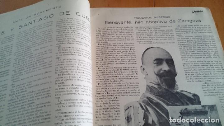 Coleccionismo de Revistas y Periódicos: REVISTA - JUSTICIA SEMANARIO NACIONAL INDEPENDIENTE AÑO I NUM 13 NOVIEMBRE 1923 - ORTEGA Y GASSET - Foto 3 - 197664862