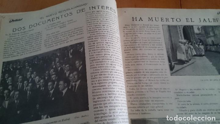 Coleccionismo de Revistas y Periódicos: REVISTA - JUSTICIA SEMANARIO NACIONAL INDEPENDIENTE AÑO I NUM 13 NOVIEMBRE 1923 - ORTEGA Y GASSET - Foto 4 - 197664862