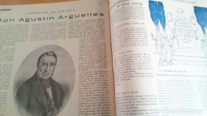 Coleccionismo de Revistas y Periódicos: REVISTA - JUSTICIA SEMANARIO NACIONAL INDEPENDIENTE AÑO I NUM 13 NOVIEMBRE 1923 - ORTEGA Y GASSET - Foto 6 - 197664862
