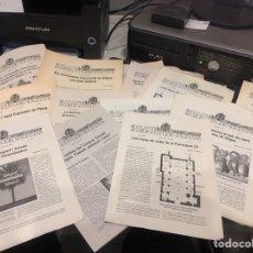 Coleccionismo de Revistas y Periódicos: BUTLLETI DEL GRUP D ESTUDIS SITGETANS. Lote 197677200