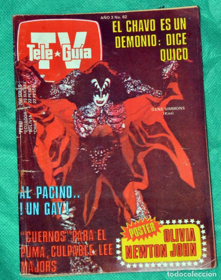 Kiss Gene Simmons Revista Peru El Chavo Olivia Buy Other Modern Magazines And Newspapers At Todocoleccion 197698950