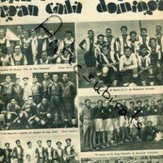 Coleccionismo de Revistas y Periódicos: REVISTA AÑO 1933 FUTBOL EN DE ORTIGUEIRA ALCAZAR DE SAN JUAN BURRIANA GANDIA . Lote 197811480