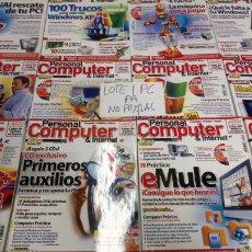 Coleccionismo de Revistas y Periódicos: LOTE 17 REVISTA PERSONAL COMPUTER DE 23 AL 46 NÚMEROS INTERCALADOS SOLO REVISTAS NO CDS. Lote 197824438
