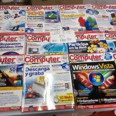 Coleccionismo de Revistas y Periódicos: LOTE 17 REVISTA PERSONAL COMPUTER DE 47 AL 64 NÚMEROS INTERCALADOS SOLO REVISTAS NO CD. Lote 197825102