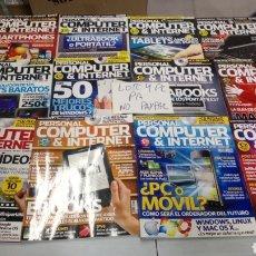 Coleccionismo de Revistas y Periódicos: LOTE 23 REVISTA PERSONAL COMPUTER DE 99 AL 138 NÚMERO INTERCALADOS SOLO REVISTAS NO CD. Lote 197826387