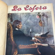 Coleccionismo de Revistas y Periódicos: REVISTA LA ESFERA 1918 2º SEMESTRE ENCUADERNADO DEL NÚMERO 236 AL 261 COMPLETO. Lote 197902058