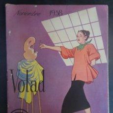 Coleccionismo de Revistas y Periódicos: ANTIGUA REVISTA VOLAD , NOVIEMBRE 1958 , VER FOTOS. Lote 198133917