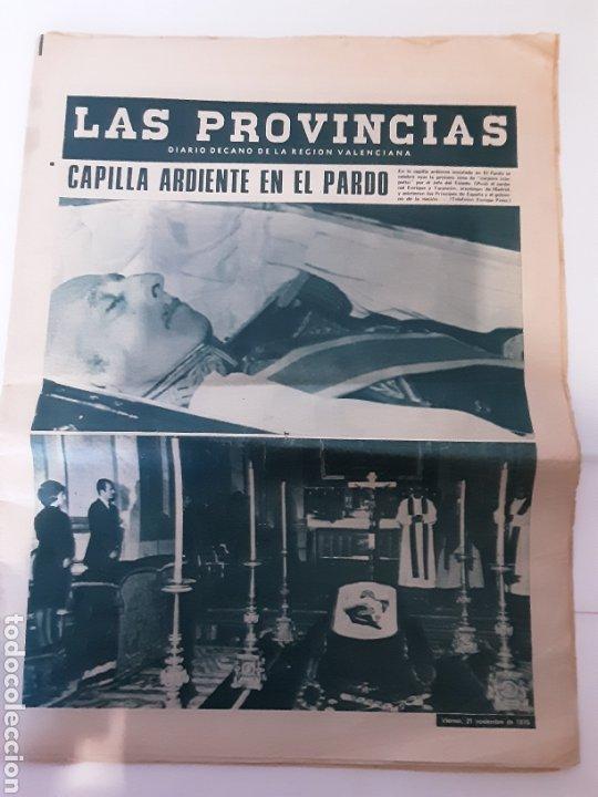 DIARIO LAS PROVINCIAS 1975 (Coleccionismo - Revistas y Periódicos Modernos (a partir de 1.940) - Otros)