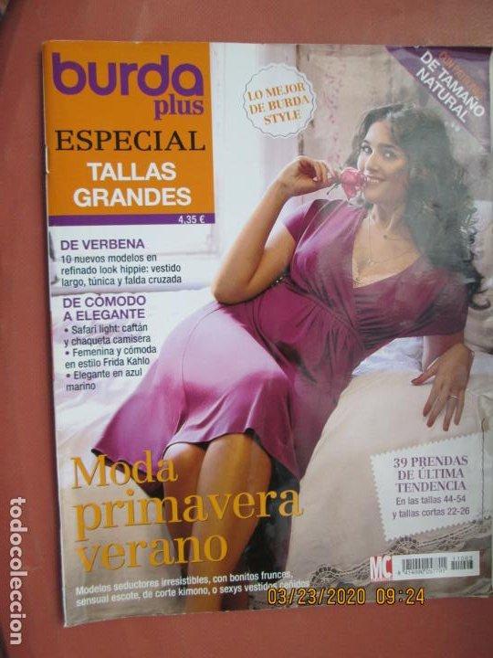 Burda Plus Especial Tallas Grandes Moda De Vendido En Venta Directa 198371686