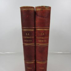 Coleccionismo de Revistas y Periódicos: LA ILUSTRACIÓN IBÉRICA - SEMANARIO CIENTÍFICO, LITERARIO Y ARTÍSTICO - AÑOS 1884, 1886 - COMPLETOS. Lote 198382731