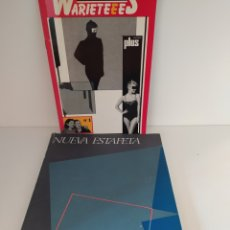 Coleccionismo de Revistas y Periódicos: WARIETEEES Nº1 Y NUEVA ESTAFETA Nº3. Lote 198427821