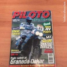 Coleccionismo de Revistas y Periódicos: PILOTO. Lote 198495136