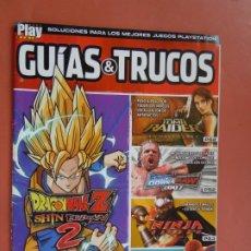 Colecionismo de Revistas e Jornais: REVISTA PLAY MANIA - GUÍAS & TRUCOS. DRAGON BALL ZZ - TOMB RAIDER - SPIDER-MAN 3 .... Lote 198569537