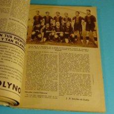 Coleccionismo de Revistas y Periódicos: BLANCO Y NEGRO Nº 2306. 29-09-1935. F.C. BARCELONA. GRAN PREMIO ESPAÑA. SANTA TECLA. LUCENA. PULGAS. Lote 198575676
