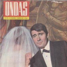 Coleccionismo de Revistas y Periódicos: ONDAS - Nº 221 / FEBRERO 1962. Lote 198624462