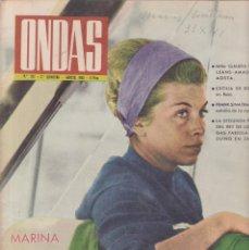 Coleccionismo de Revistas y Periódicos: ONDAS - Nº 257 / AGOSTO 1963. Lote 198624691