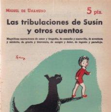 Coleccionismo de Revistas y Periódicos: MIGUEL DE UNAMUNO - LAS TRIBULACIONES DE SUSÍN....REVISTA NOVELAS Y CUENTOS Nº 1528 / 1960. Lote 198625675