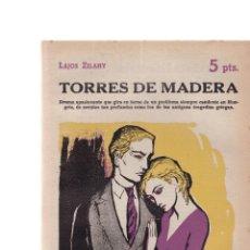Coleccionismo de Revistas y Periódicos: LAJOS ZILAHY - TORRES DE MADERA - REVISTA NOVELAS Y CUENTOS Nº 1531 / SEPTIEMBRE 1960. Lote 198626010