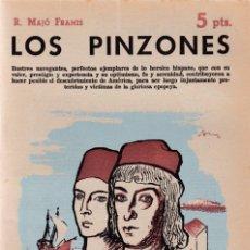 Coleccionismo de Revistas y Periódicos: R. MAJÓ FRAMIS - LOS PINZONES - REVISTA NOVELAS Y CUENTOS Nº 1527 / AGOSTO 1960. Lote 198626172