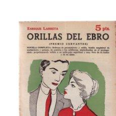 Coleccionismo de Revistas y Periódicos: ENRIQUE LARRETA - ORILLAS DEL EBRO - REVISTA NOVELAS Y CUENTOS Nº 1650 / DICIEMBRE 1962. Lote 198626343