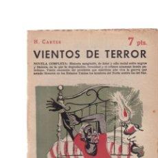 Coleccionismo de Revistas y Periódicos: H. CARTER - VIENTOS DE TERROR - REVISTA NOVELAS Y CUENTOS Nº 1421 / AGOSTO 1958. Lote 198627778
