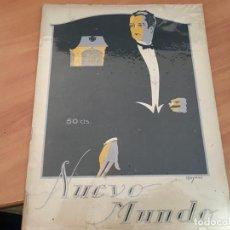 Coleccionismo de Revistas y Periódicos: NUEVO MUNDO 12 DICIEMBRE 1924 MARRUECOS DEDE AIRE, REOS BIDASOA (COIB66). Lote 198631976