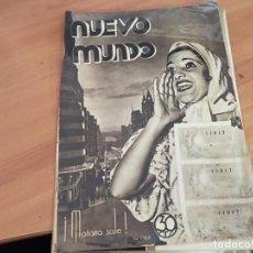 Coleccionismo de Revistas y Periódicos: NUEVO MUNDO 22 DICIEMBRE 1933 RINCONES DE MADRID, LERROUX, MUJER DEPORTE, TAQUIMECA (AB-2). Lote 198632707