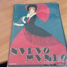 Coleccionismo de Revistas y Periódicos: NUEVO MUNDO 12 NOVIEMBRE 1920 HARDING, CATALINA BARCENA (AB-2). Lote 198633178