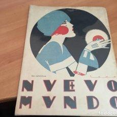 Coleccionismo de Revistas y Periódicos: NUEVO MUNDO 17 SEPTIEMBRE 1920 BOMBA EN MUSIC-HALL POMPEYA DE BARCELONA. ESPERANZA IRIS (AB-2). Lote 198735511