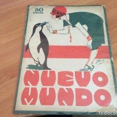 Coleccionismo de Revistas y Periódicos: NUEVO MUNDO 7 AGOSTO 1925 GUERRA MARRUECOS. ZAMACOIS (AB-2). Lote 198735850