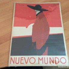 Coleccionismo de Revistas y Periódicos: NUEVO MUNDO 19 ENERO 1923 BLASCO IBAÑEZ, MARIA GUERRERO, JULIO ROMERO TORRES MEDALLA A FRANCO (AB-2). Lote 198736347