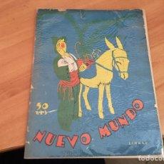 Coleccionismo de Revistas y Periódicos: NUEVO MUNDO 16 FEBRERO 1923 DESCUBRIMIENTO TUMBA TUT ANKHAMEN (AB-2). Lote 198737227