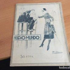 Coleccionismo de Revistas y Periódicos: NUEVO MUNDO 15 DICIEMBRE 1922 ALBERT EINSTEIN, GOBIERNO MARQUES ALHUCEMAS, BOXEO (AB-2). Lote 198746361