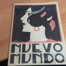 Coleccionismo de Revistas y Periódicos: NUEVO MUNDO 11 AGOSTO 1922 ABD-EL-KRIM, PRESIDENTE ALVEAR, TOROS (AB-2). Lote 198746897